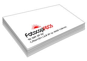 Los mejores precios en tarjetas de visita en impresión digital de Valencia