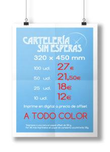 Imprimir carteles baratos en Valencia