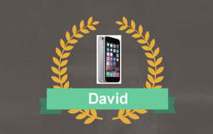 Ya tenemos ganador para el Iphone 6 en Fotocopias ADOS Valencia.