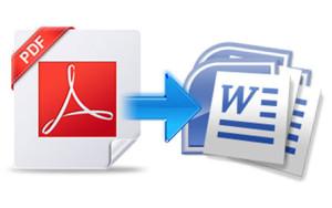Cómo convertir documento pdf en archivo editable doc.